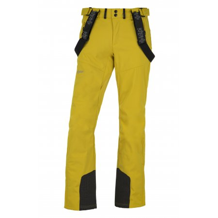 Pánské zimní softshellové kalhoty  KILPI RHEA-M JM0014KI ŽLUTÁ
