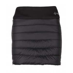 Dámská zateplená sukně  KILPI MATIRA-W JL0014KI ČERNÁ