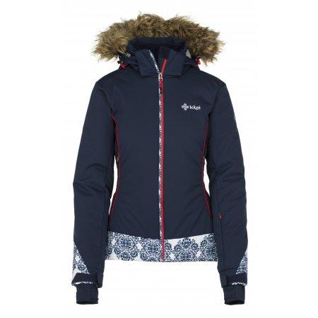 Dámská lyžařská bunda  KILPI VERA-W JL0199KI TMAVĚ MODRÁ