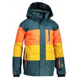 Chlapecká lyžařská bunda  KILPI ORMES-JB JJ0108KI TYRKYSOVÁ