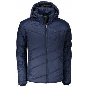 Pánská zimní bunda ALTISPORT MIARY TMAVĚ MODRÁ