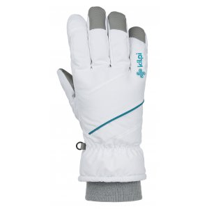 Lyžařské rukavice KILPI TATA-U JU0159KI BÍLÁ