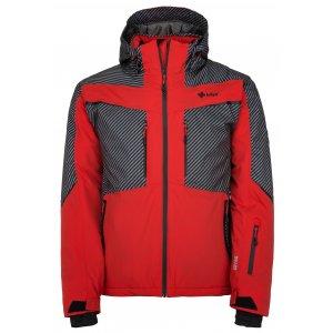 Pánská lyžařská bunda  KILPI IO-M JM0113KI ČERVENÁ