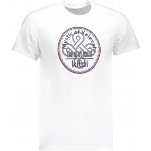 Pánské triko s krátkým rukávem KILPI MYSTIC-M IM0125KI BÍLÁ