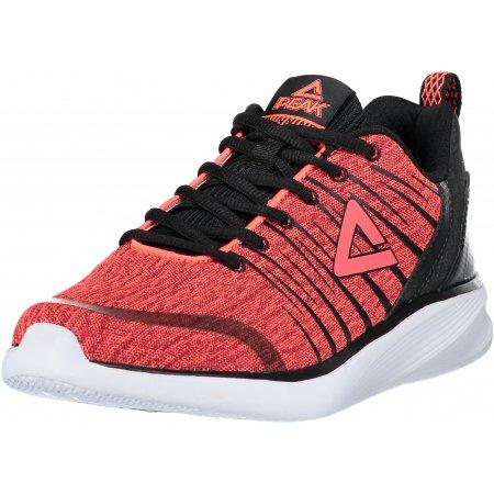 Dámské sportovní boty PEAK RUNNING SHOES E73378H FLUORESCENTNÍ ČERVENÁ