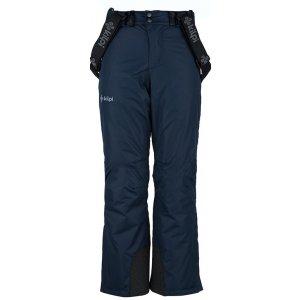 Chlapecké lyžařské kalhoty  KILPI MIMAS-JB JJ0011KI TMAVĚ MODRÁ