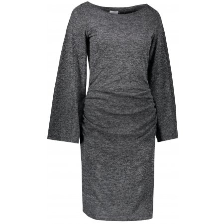 Dámské šaty NUMOCO A185-1 BLACK MELANGE