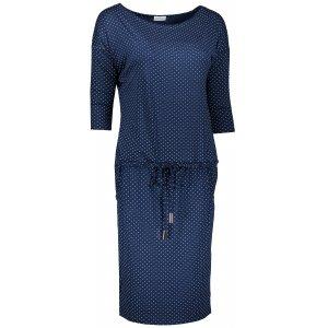 Dámské šaty NUMOCO A13-89 MODRÁ