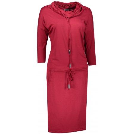 Dámské šaty NUMOCO A44-19 VÍNOVÁ
