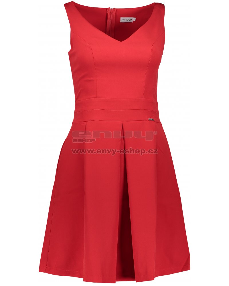 05eb0b5be10a Dámské šaty NUMOCO A160-3 ČERVENÁ velikost  S   ENVY-ESHOP.cz