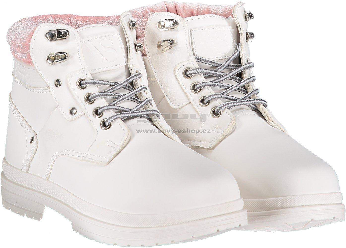 3fdd37b3930 Dámské boty VICES JB008-41 WHITE velikost  37   ENVY-ESHOP.cz