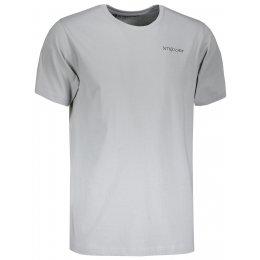 Pánské triko s krátkým rukávem ALTISPORT PELAG MTSN424 ŠEDÁ