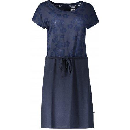 Dámské šaty ALTISPORT ROSSA LSKN195 TMAVĚ MODRÁ