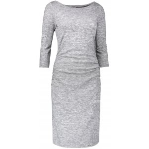 Dámské šaty NUMOCO A59-2 GREY MELANGE