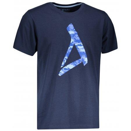 Pánské triko s krátkým rukávem ALTISPORT SLUNEK MTSN422 TMAVĚ MODRÁ