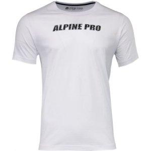 Pánské triko ALPINE PRO LEMON MTSM380 BÍLÁ