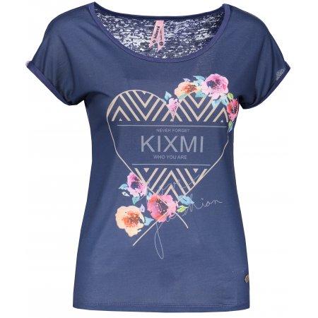 Dámské triko KIXMI HARRIET TMAVĚ MODRÁ