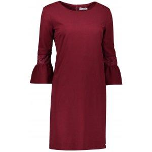 Dámské šaty NUMOCO A190-8 VÍNOVÁ