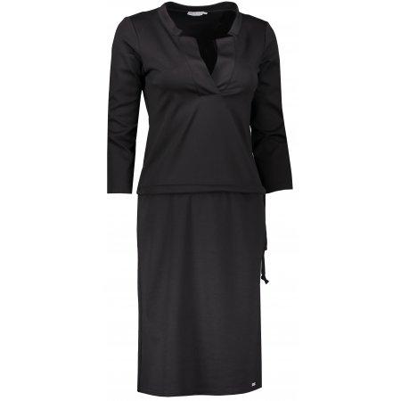Dámské šaty NUMOCO A161-1 ČERNÁ