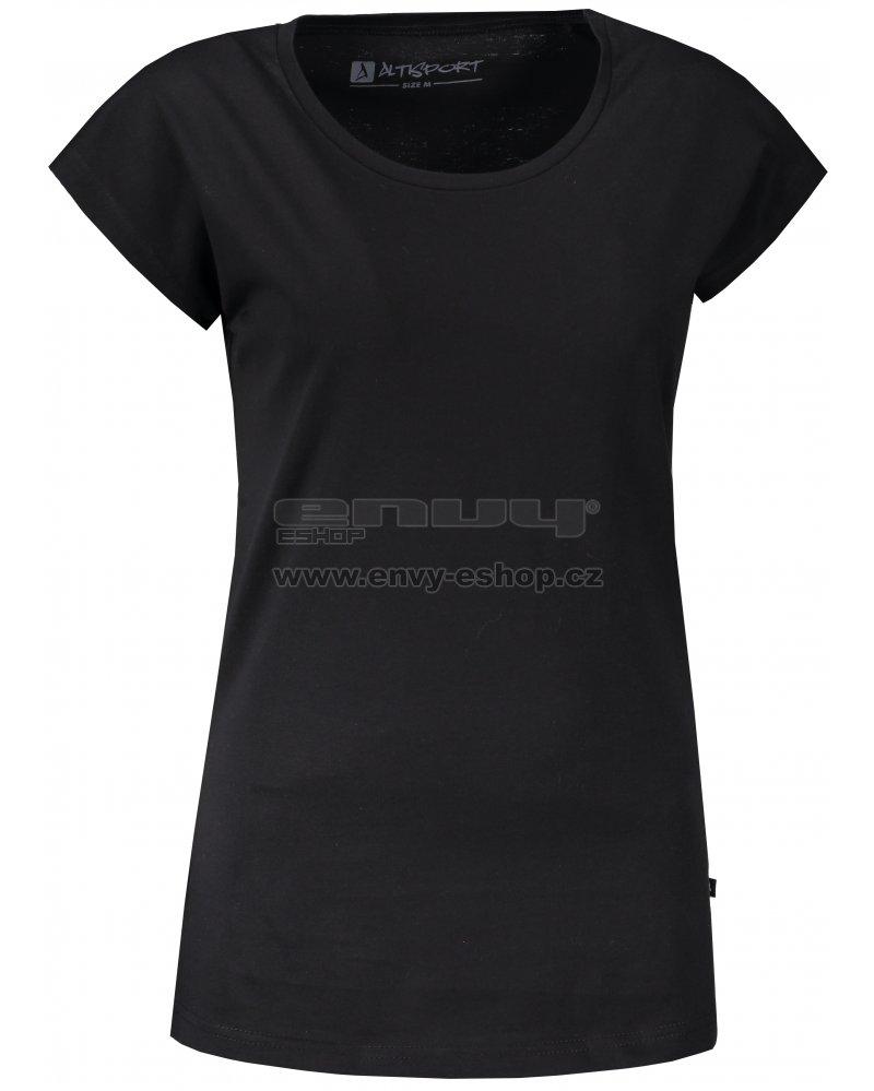befbad186a76 Dámské triko s krátkým rukávem ALTISPORT HARIA LTSN527 ČERNÁ ...