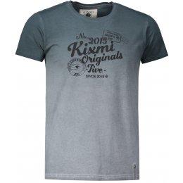 Pánské triko s krátkým rukávem KIXMI HOWARD TMAVĚ ŠEDÁ