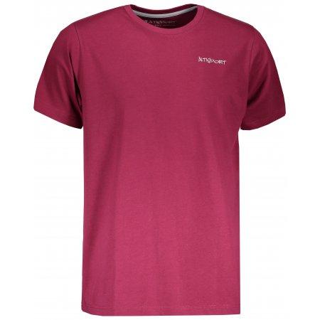 Pánské triko s krátkým rukávem ALTISPORT PELAG MTSN424 FIALOVÁ