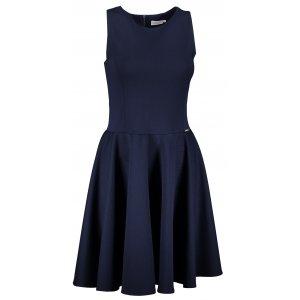 Dámské šaty NUMOCO A125-21 TMAVĚ MODRÁ