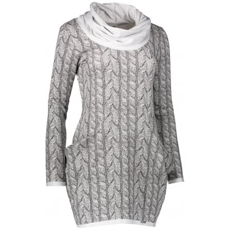 Dámské šaty NUMOCO A119-1 WHITE