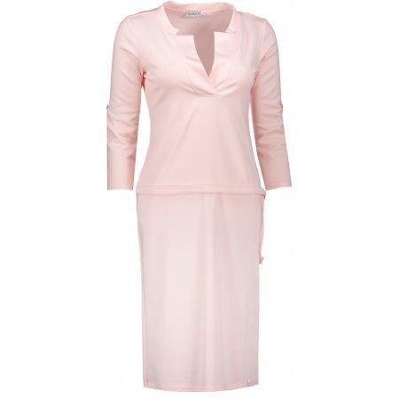 Dámské šaty NUMOCO A161-10 BROSKVOVÁ