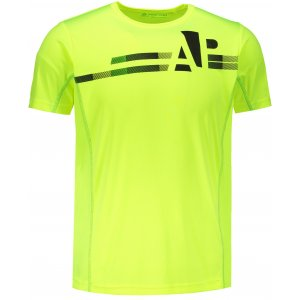 Pánské tričko s krátkým rukávem ALPINE PRO DONMAT MTSN359 SVĚTLE ZELENÁ