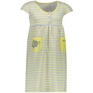 Dívčí šaty ALPINE PRO SARKO KSKN048 ŽLUTÁ