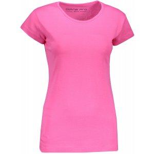 Dámské triko s krátkým rukávem ALPINE PRO KREJA LTSN564 RŮŽOVÁ