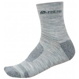 Ponožky ALPINE PRO GENTIN 3 USCN050 ŠEDÁ