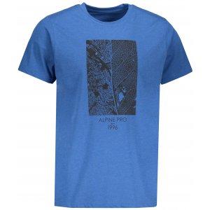 Pánské tričko s krátkým rukávem ALPINE PRO TIBERIO 7 MTSN364 SVĚTLE MODRÁ