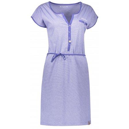 Dámské šaty ALPINE PRO BERKA LSKN151 FIALOVÁ