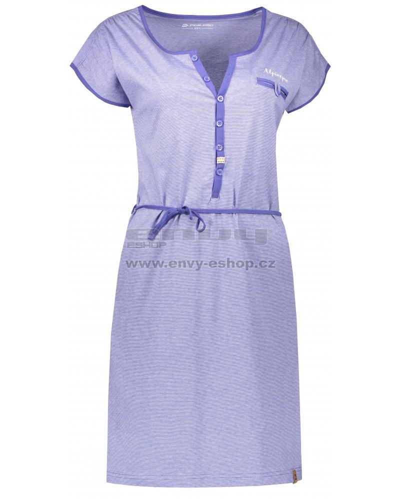 6b7f820fca6e Dámské šaty ALPINE PRO BERKA LSKN151 FIALOVÁ velikost  S   ENVY-ESHOP.cz
