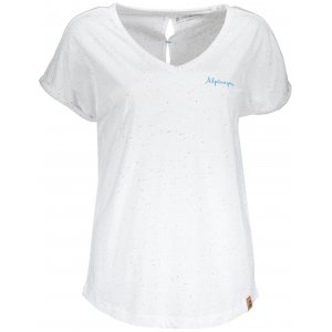 Dámské tričko s krátkým rukávem ALPINE PRO ATTALA 5 LTSN425 BÍLÁ