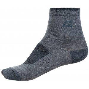 Dětské ponožky ALPINE PRO 3RAPID 2 KSCZ013 ŠEDÁ