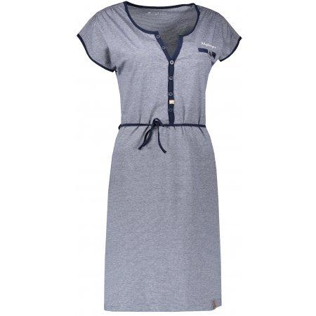 Dámské šaty ALPINE PRO BERKA LSKN151 MODRÁ