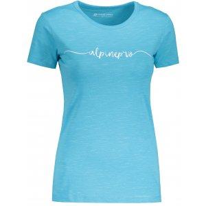 Dámské tričko s krátkým rukávem ALPINE PRO ROZENA 5 LTSN428 SVĚTLE MODRÁ