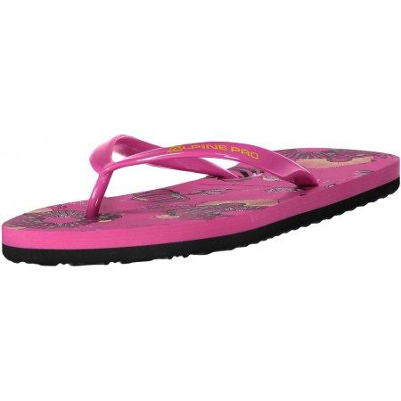 Dámské pantofle ALPINE PRO JYTORA LBTN198 RŮŽOVÁ