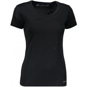 Dámské funkční tričko s krátkým rukávem ALPINE PRO NASMASA 2 LTSN276 ČERNÁ