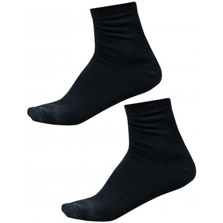 Ponožky ALPINE PRO 2ULIANO USCZ013 ČERNÁ