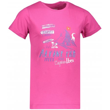 Dětské tričko s krátkým rukávem ALPINE PRO MATTERO KTSN185 RŮŽOVÁ
