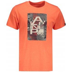 Pánské tričko s krátkým rukávem ALPINE PRO TIBERIO 7 MTSN364 ORANŽOVÁ