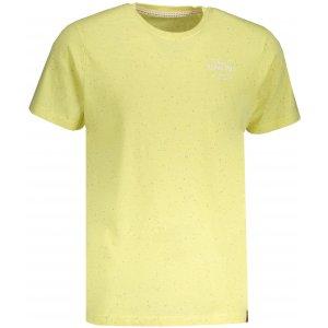 Pánské tričko s krátkým rukávem ALPINE PRO ALBERT MTSN374 ŽLUTÁ