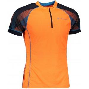 Pánské funkční tričko s krátkým rukávem ALPINE PRO SORAN MTSN351 ORANŽOVÁ