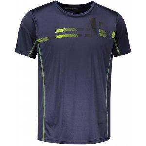 Pánské tričko s krátkým rukávem ALPINE PRO DONMAT MTSN359 MODRÁ