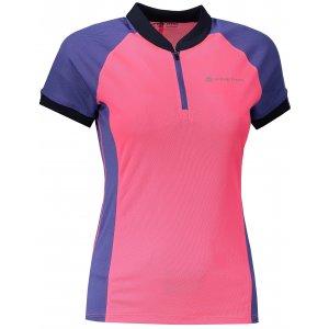 Dámské funkční tričko s krátkým rukávem ALPINE PRO SORANA LTSN412 RŮŽOVÁ