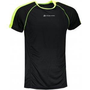 Pánské funkční tričko s krátkým rukávem ALPINE PRO DIEGO 2 MTSN358 ČERNÁ